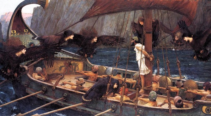 J W Waterhouse Ulysses and the Sirens 1891
